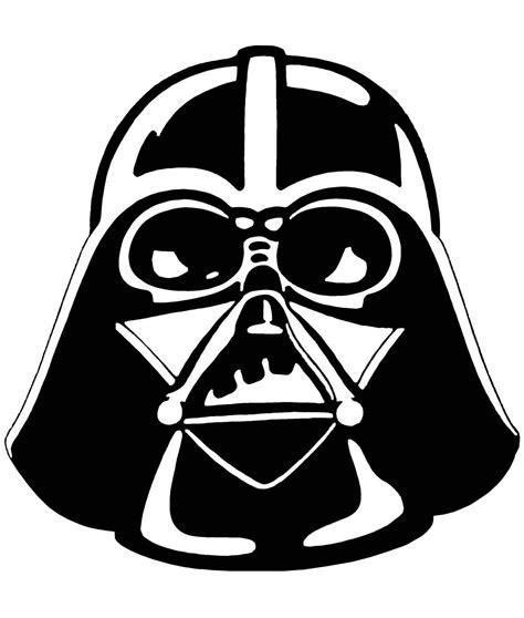 Darth Vader Clip Darth Vader Stencil Wars Clipart