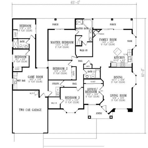 6 bedroom house floor plans 6 bedroom house plans