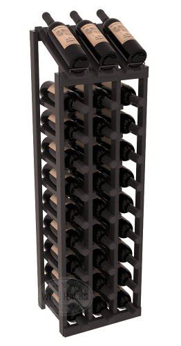 wine racks america wine racks america 3 column display wine rack in ponderosa