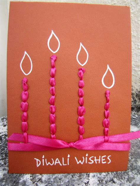 diwali homemade greeting card ideas family holidaynet