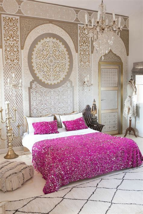 chambre style marocain le pochoir style pour vos murs et pour vos mains
