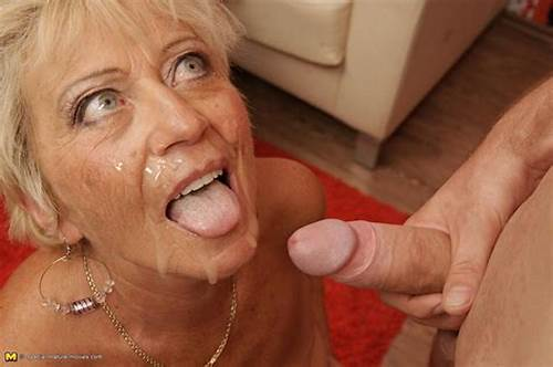 Great Facials With Squirt On A Mirror #Mature #Cum #Facials