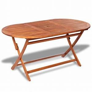 Table De Jardin Ovale : la boutique en ligne table de jardin ovale en bois ~ Dailycaller-alerts.com Idées de Décoration
