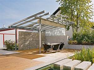 Terrassen berdachung bauen 28 l sungen aus holz alu for Terrassenüberdachung bambus