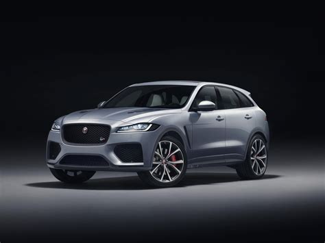 Jaguar Fpace Gets The Svr Treatment Forcegtcom