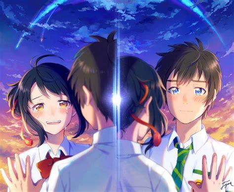 Anime Kimi No Nawa Sub Indo Koe Katachi Wallpapers Hq Kimi No Na Wa Anime Amino
