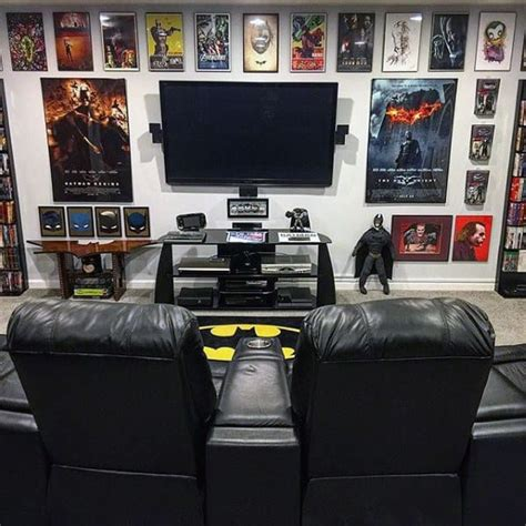 gaming man cave design ideas  men manly home retreats