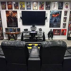 50, Gaming, Man, Cave, Design, Ideas, For, Men