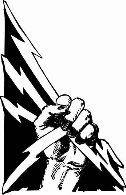 Fist Power Clipart Vector Svg Symbol Fight