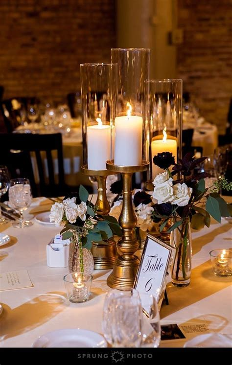 42 best candle wedding centerpieces images on