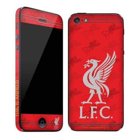 cool gifts for football fans gift ideas official liverpool fc iphone 5 skin a great