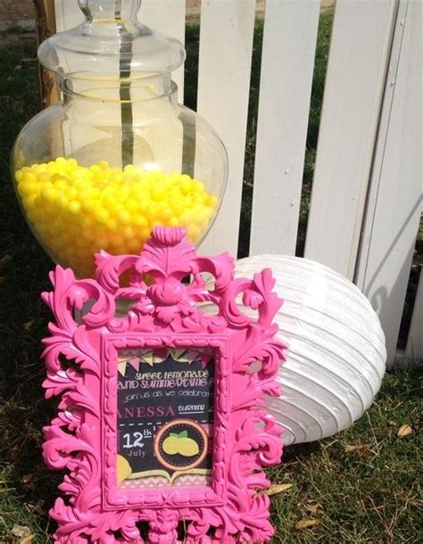 Pink Lemonade Party Welcome Sign