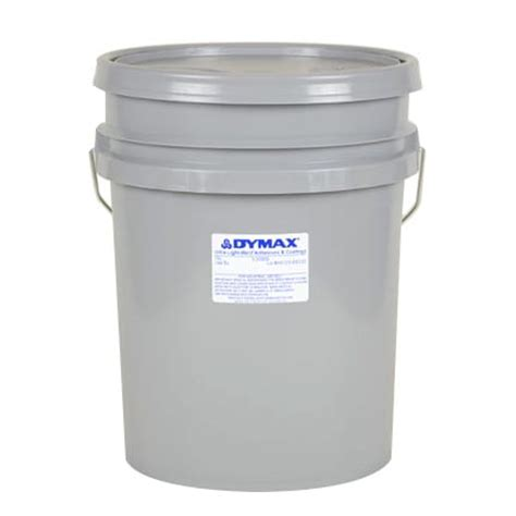 dymax ultra light weld 174 3 20809 uv curing adhesive yellow 15 l pail