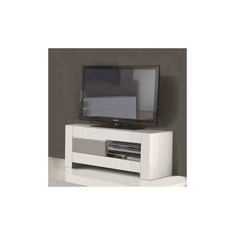 meuble tv noir et blanc laque pas cher meuble t 233 l 233 laqu 233 blanc et gris pas cher