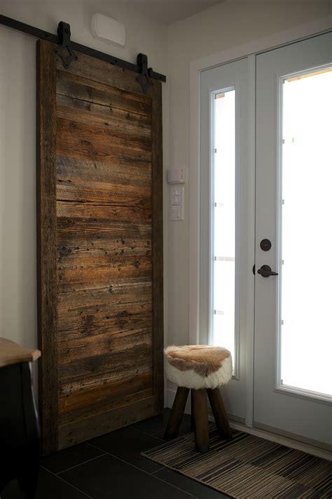 meuble cuisine persienne porte de grange coulissante espace bois inc
