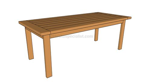 Kitchen Table Plans  House Furniture