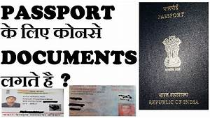 passport documents documents With documents required for passport new