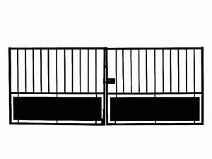 Portail 4 Metres 2 Vantaux : portail en fer horizon 300 cm castorama ~ Edinachiropracticcenter.com Idées de Décoration