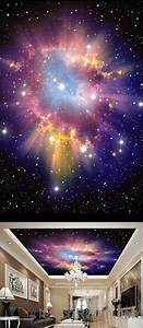 3d, Infinity, Galaxy, Colorful, Nebula, Ceiling, Wall, Mural, Wall