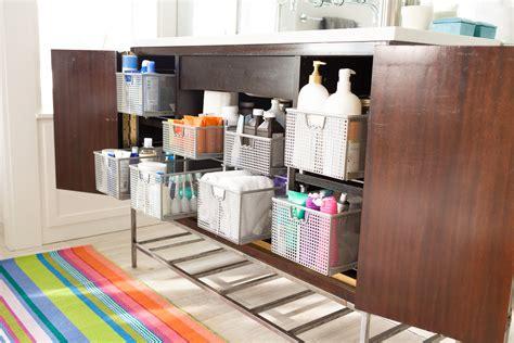Annie's Bathroom Cabinet Organization Makeover