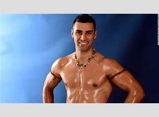 Topless Tongan Olympic flag bearer Pita Taufatofua