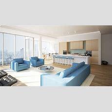 Luxurious Modern Living Room Interior 3d Model