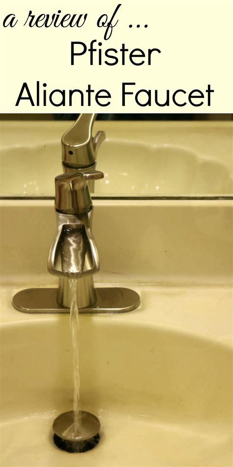pfister kitchen faucet reviews bathroom update pfister aliante faucet review