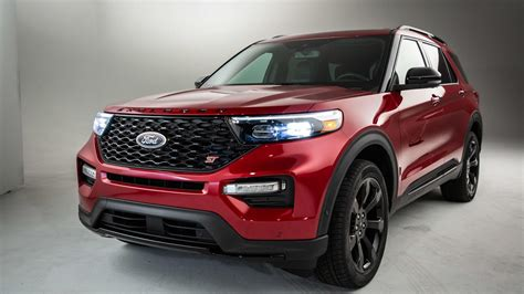 2020 Ford Explorer St Debuts With 400 Horses At Detroit
