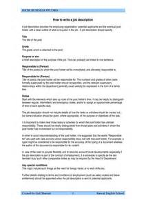 Free Resume Builder With Descriptions by 28 How To Write A Resume Description How To