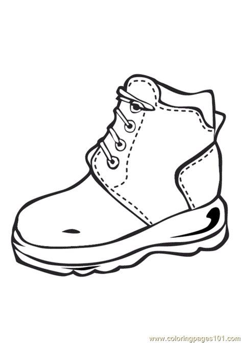 shoes coloring page  shoes coloring pages coloringpagescom