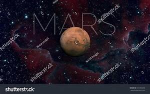 Solar System Mars Fourth Planet Sun Stock Photo 531065848 ...