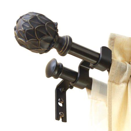 better homes and gardens curtain rods better homes and gardens add on drapery rod kit black