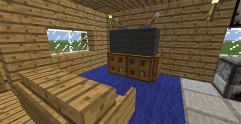 Cool Living Room Minecraft by Modern House Minecraft Project
