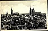 Ansichtskarte / Postkarte Breslau Schlesien, Blick von der ...