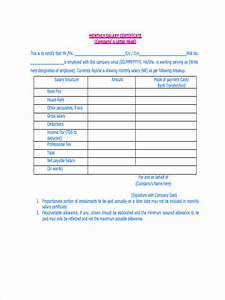 Sample Of Income Statements Free 7 Sample Salary Statement Forms In Pdf