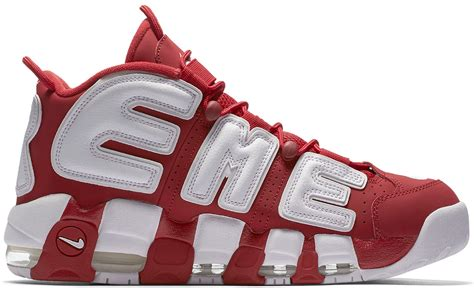 supreme nike air supreme x nike air more uptempo stockx news