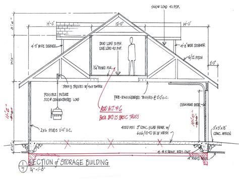 One Car Garage Plans Free Free Garage Building Plans