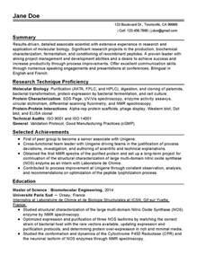 molecular biology resume sle professional molecular biology scientist templates to showcase your talent myperfectresume