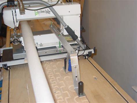 precise pantograph system   bailey midarm quilting