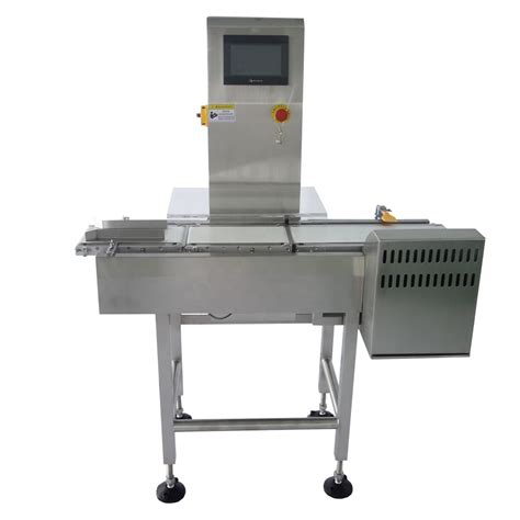 automatic checkweigher conveyor belt sorting scales