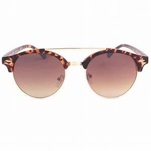 Lunette Soleil Ronde Homme : lunette de soleil ronde marron vintage psiky ~ Nature-et-papiers.com Idées de Décoration