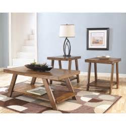 livingroom table sets signature design by bradley brown occasional table set of 3 coffee table sets at