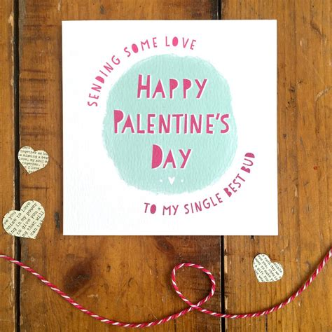 Happy Palentine's Day Best Friend Card By Arbee ...