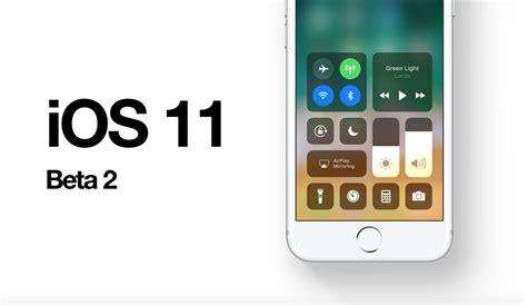 iphone beta ios 11 beta 2 build 15a5304j released
