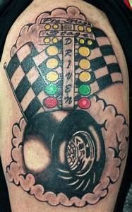 Racing tattoo for my dad.   Cool stuff   Pinterest   Dads ...