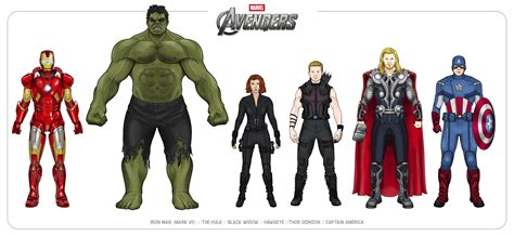 The Avengers 2012 By Efrajoey1 On Deviantart