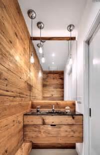 kleines badezimmer holzwand paneele weiße farbe design - Farbe Fã R Badezimmer