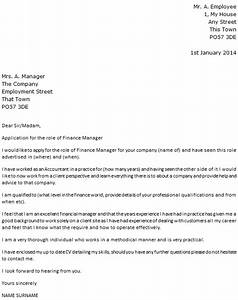 finance manager cover letter example icoverorguk With sample cover letters for finance jobs