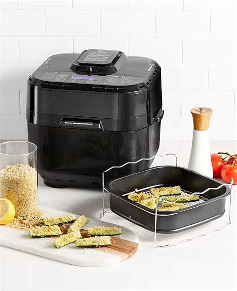 nuwave air qt fryer digital brio fryers airfryer quart macy cooking macys line appliances