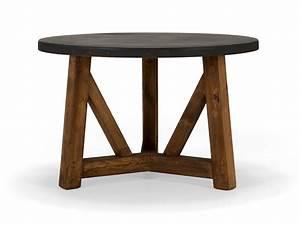 Esstisch Rund Groß : massivholz esstisch rund aus pinie industriedesign ~ Lizthompson.info Haus und Dekorationen
